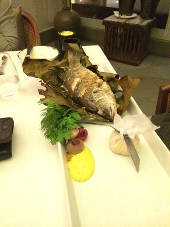 The Grill : Grilled Catch of the day -Seabass