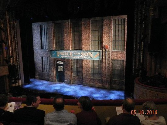 Kinky Boots on Broadway: Price & Sons set at opening-no photos