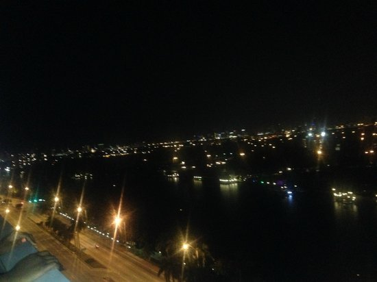 Grand Beach Hotel: View at Night