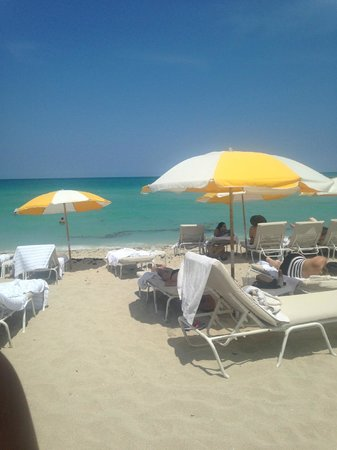 Grand Beach Hotel: Beach View