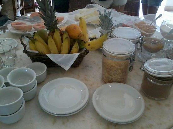 Pousada dos Buzios: Café da manhã perfeito!
