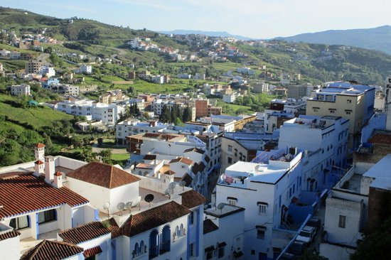 Hotel Parador - Chefchaouen : View from hotel