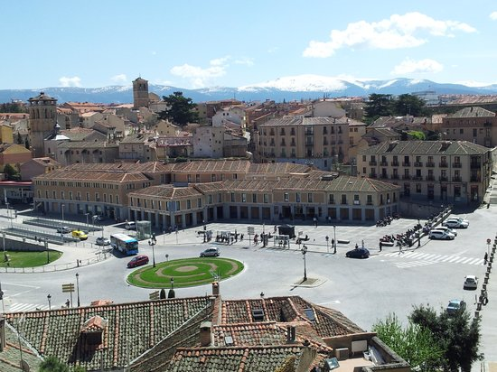 Aquädukt von Segovia: Segovia