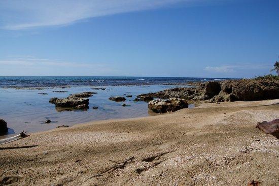 Villas del Caribe: View from beach