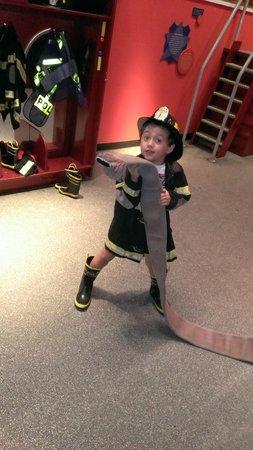 Miami Children's Museum: fireman