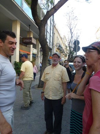 Private Greece Tours : Dominic with several family members