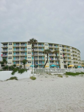 Perry's Ocean Edge Resort: A picture of Perry's Ocean Edge from the shore
