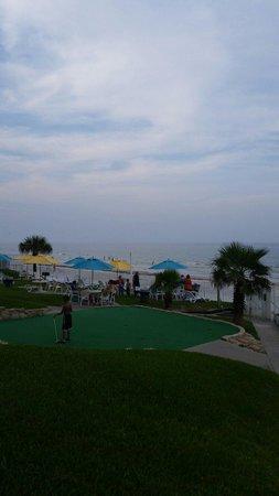 Perry's Ocean Edge Resort: Just outside my room