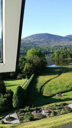 Park Hotel Kenmare: Room with a view