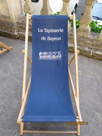 Musée de la Tapisserie de Bayeux: A seat