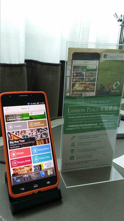 Lanson Place Hotel : Smart Handy Phone - Free device service by Lanson Place HKG
