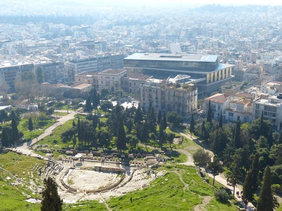Theater of Dionysus: Desde la Acrópolis