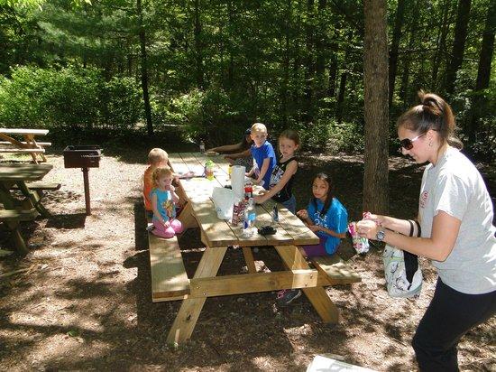 Oconee Station State Historic Site: kiddie table