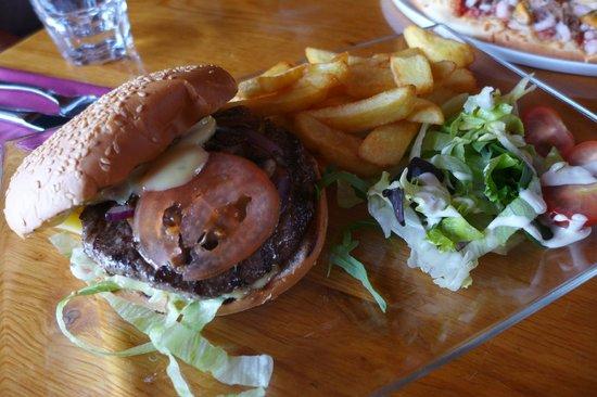 Gamli baukur: burger