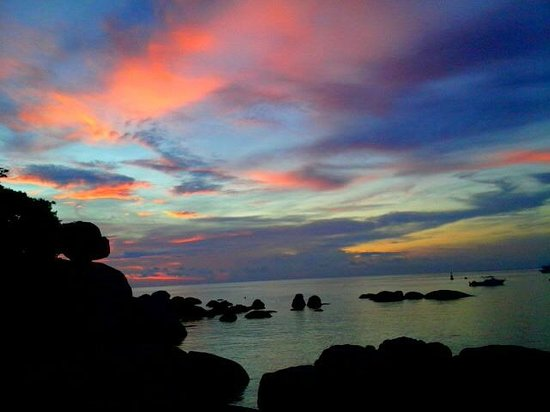 Charm Churee Villa: Evening at Koh Tao