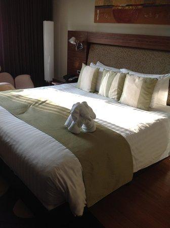 Park Plaza Sukhumvit Bangkok: ベットの寝心地はよいです