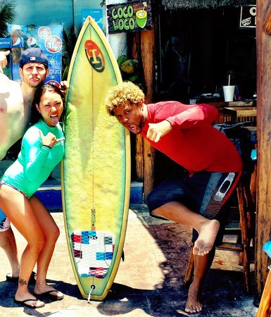 360 Surf School: good times with mike! Shakas all day everyday!
