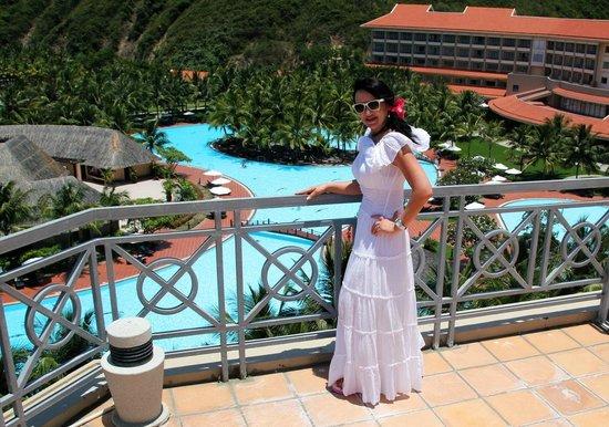 Vinpearl Nha Trang Resort : вид с терассы