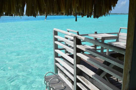 InterContinental Bora Bora Le Moana Resort : View from bungalow