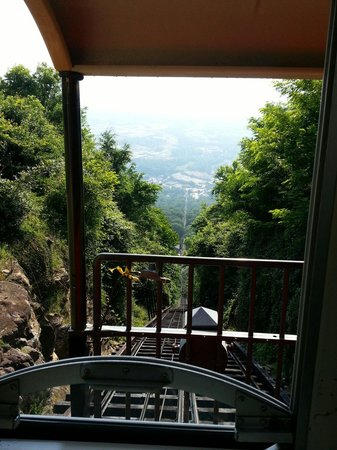 The Lookout Mountain Incline Railway: Dramatic view