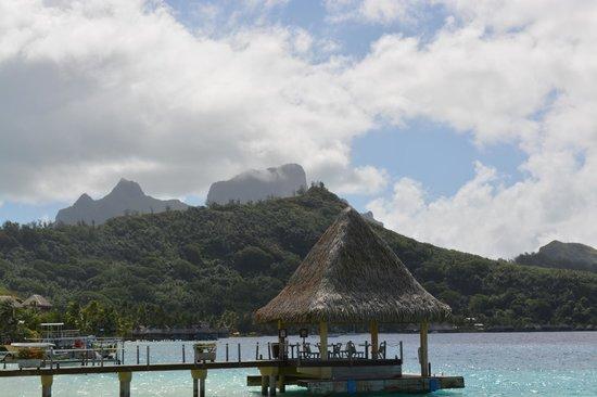 InterContinental Bora Bora Le Moana Resort: View from bungalow
