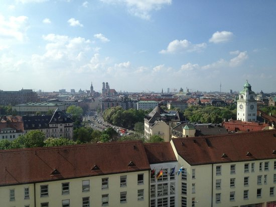 Holiday Inn Munich - City Centre : view from room
