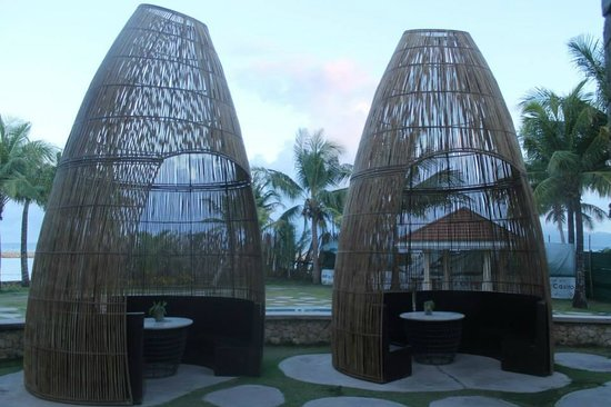 Misibis Bay Resort: Empty Semi-huts
