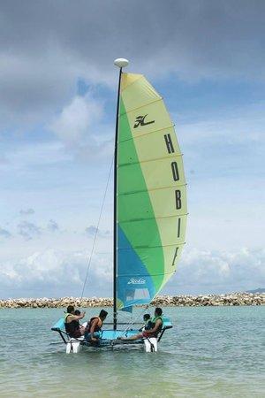 Misibis Bay Resort: Hobie Cat