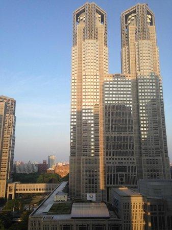 Keio Plaza Hotel Tokyo: View of Tokyo Metropolitan Bldg.
