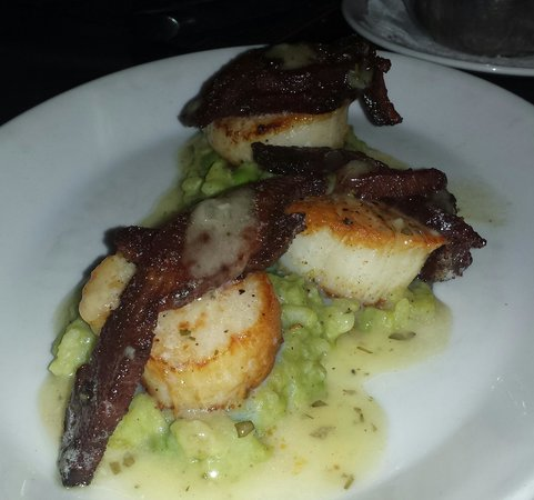 Maine Sea Scallops $ Bacon - Picture of N9NE Steakhouse, Las
