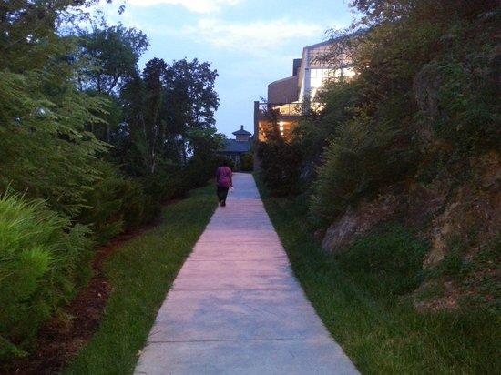 RiverStone Resort & Spa: the nature trail