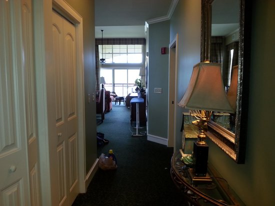 RiverStone Resort & Spa: the view when you first walk in...
