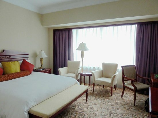 Guxiang Hotel Shanghai: Large and comfortable room