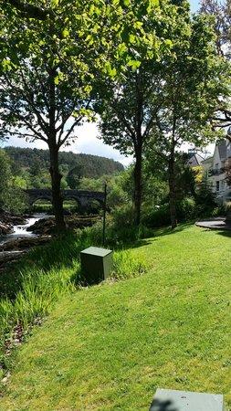 Sheen Falls Lodge : Waterfall