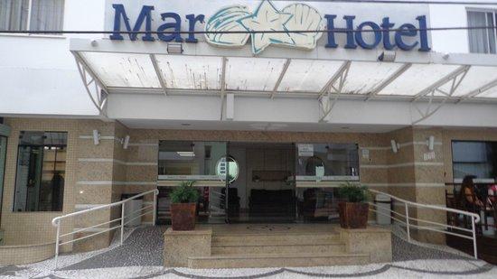 Mar Hotel: Entrada del Hotel