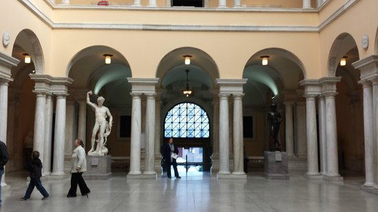 The Walters Art Museum: Entrance Interior Courtyard