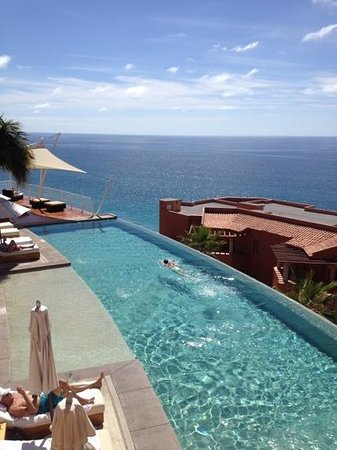 Westin Resort & Spa Los Cabos: view from the timeshare private pool up high!