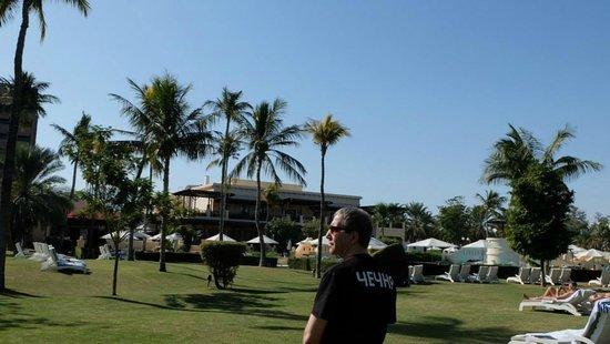 InterContinental Hotel Muscat: Часть территории отеля