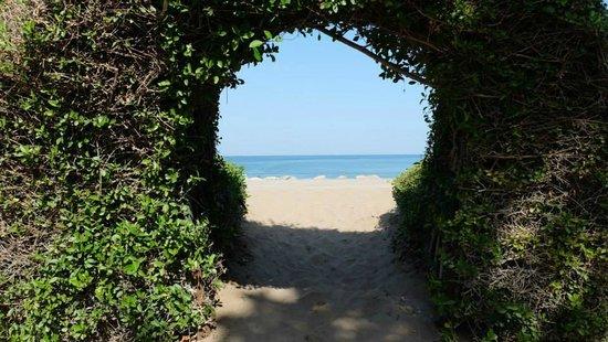 InterContinental Hotel Muscat: Выход на береговую линию