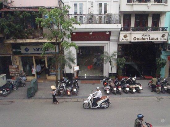Maison D'Hanoi Hanova Hotel : Entrance to hotel