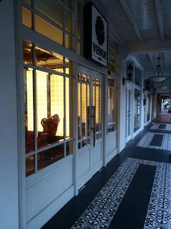 Venue Hotel: the coridor