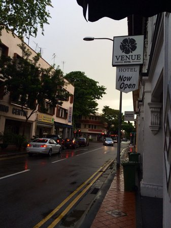 Venue Hotel: the joo chiat road