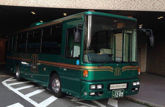 RIHGA Royal Hotel Osaka: 専用シャトルバス
