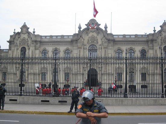 Centro histórico de Lima: Presidential Palace