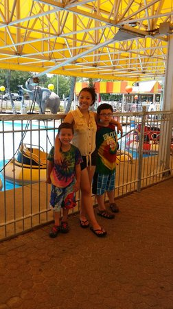The Track Family Recreation Center : They had a GREAT time!!!