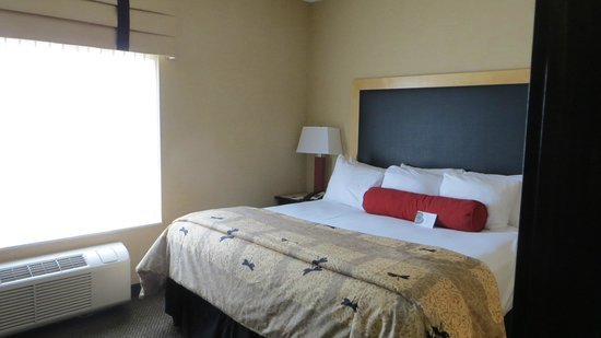Cambria hotel & suites Traverse City: King bed