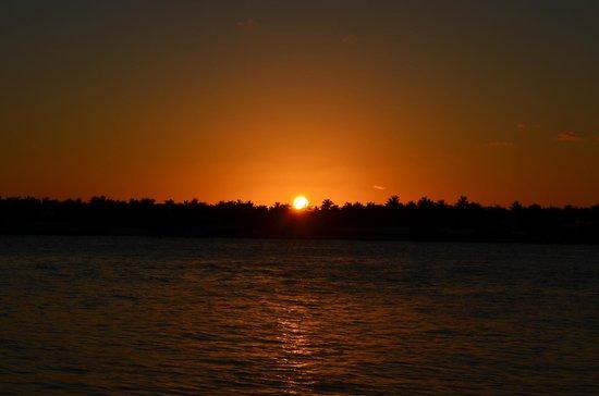 Tramonto al Sunset Pier di Key Werst