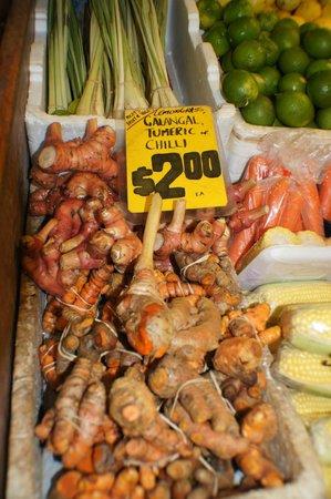 Rusty's Market: Galangal, tumeric lemongrass etc