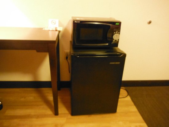 Red Roof Inn Kalamazoo East: Fridge and microwave