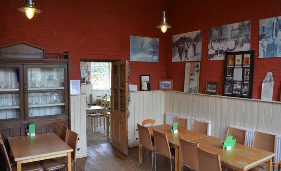 Moreton Tea Rooms: Lawrence of Arabia on display
